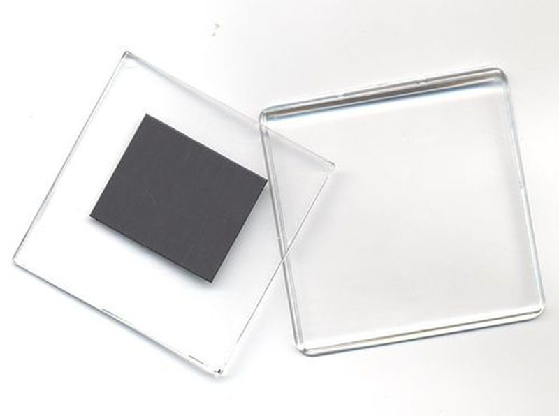 прах фото в пластике магнит имеет