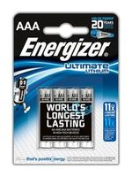 Батарея AAA Energizer ULTIMATE LITHIUM
