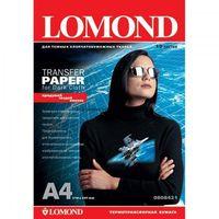 Бумага LOMOND 0808421 (A4, 10 листов, 140 г/м2) термотрансферная  для  темных  тканей