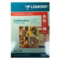 Бумага сублимационная LOMOND 0809315, А3, 50 листов