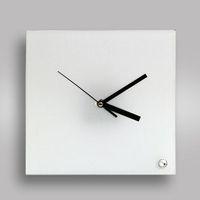 Часы BL-26, квадратные, стеклянные (для сублимационной печати)
