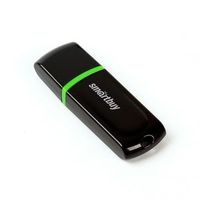 Флэш-память USB Flash 8 Gb SmartBuy Paean Black