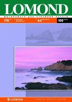 Фотобумага двухсторонняя LOMOND 0102006 матовая/матовая 170гр. А4, 100 листов