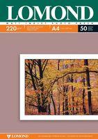 Фотобумага двухсторонняя LOMOND 0102144 матовая/матовая 220гр. А4, 50 листов