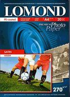 Фотобумага LOMOND 1106200 Сатин (А4, 20 листов, 270 г/м2)