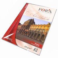 Глянцевая фотобумага FORA, 220гр, А3, 50л