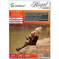 Глянцевая фотобумага SHARCO для струйной печати, 160 гр, A4, 100 листов