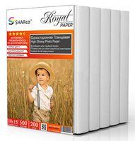 Глянцевая фотобумага SHARCO для струйной печати, 200 гр, 10x15, 500 листов