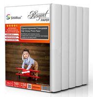 Глянцевая фотобумага SHARCO для струйной печати, 230 гр, 10x15, 500 листов