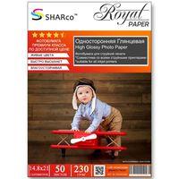 Глянцевая фотобумага SHARCO для струйной печати, 230 гр, A5, 50 листов