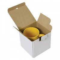 Коробка для кружки БЕЛАЯ 10x10x10см