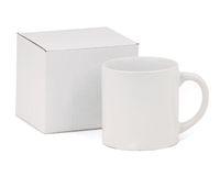 Кружка кофейная белая, в коробке (для сублимационной печати)