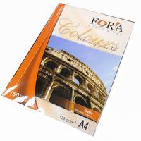 Матовая фотобумага FORA, 128гр, А4, 50л