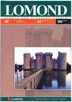 Матовая фотобумага LOMOND 0102011, 90гр, А3, 100 листов