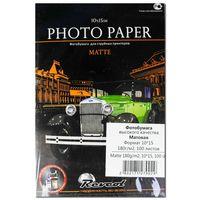 Матовая фотобумага REVCOL, 180гр. 10x15, 100л