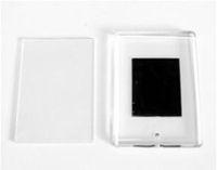 Пластиковый фото-магнит для вставки изображения (Большой прямоугольный) уп.25шт