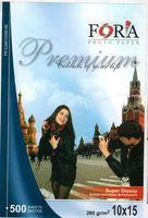 Супер Глянцевая фотобумага FORA 260гр 10x15 (ПРЕМИУМ) 500 листов