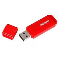 Флэш-память USB Flash 8 Gb SmartBuy Dock Red